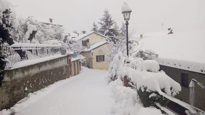 Le fotografie della prima neve del 2021 54