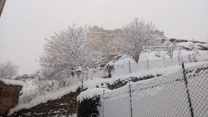Le fotografie della prima neve del 2021 53