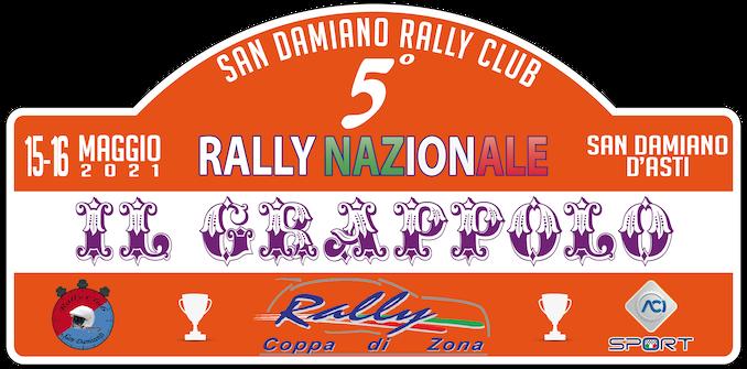 Il rally del Grappolo si correrà il 15 e 16 maggio a San Damiano d'Asti