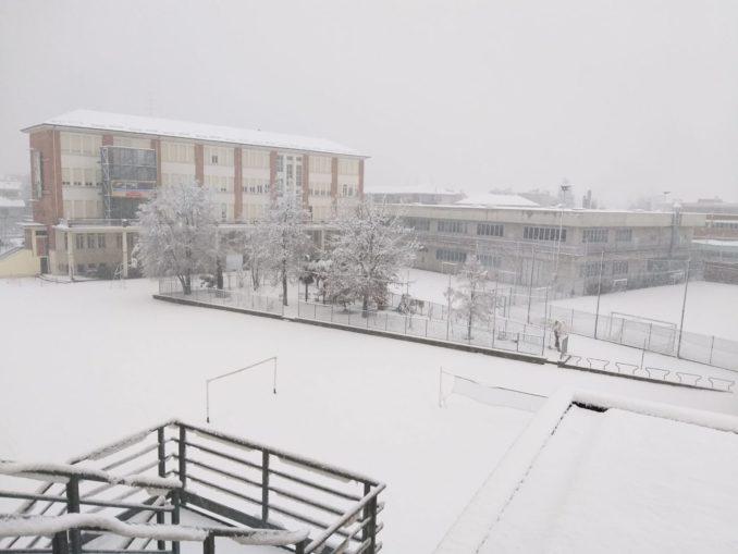 Le foto della prima nevicata del 2021 3