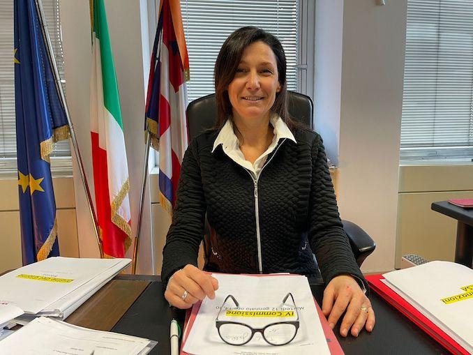 L'assessore regionale al Welfare, Chiara Caucino