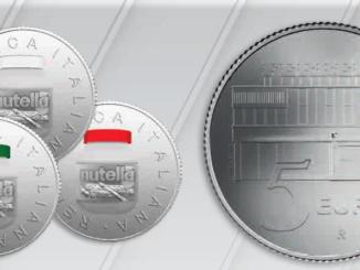 La moneta d'argento della Ferrero in vendita dal 26 gennaio