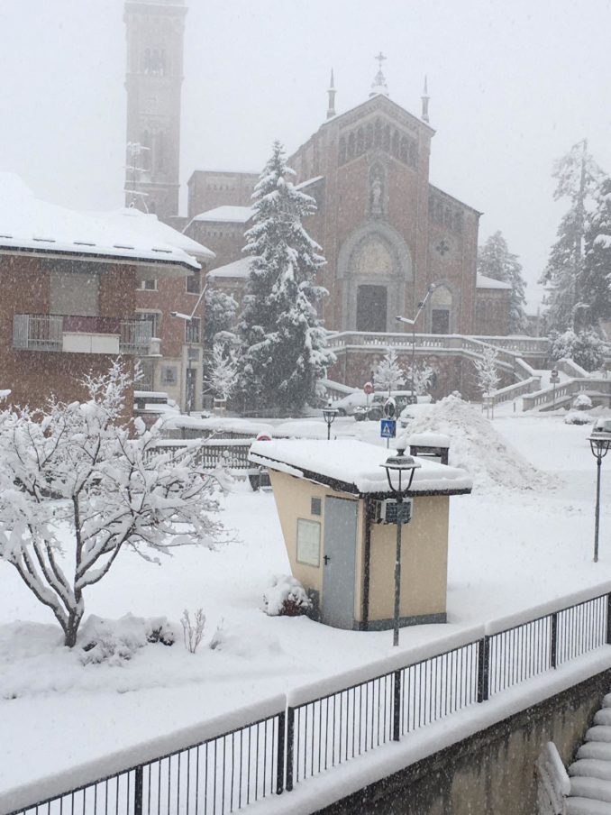 Le foto della prima nevicata del 2021 5