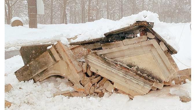 Italia nostra: salviamo cosa rimane del pilone crollato a Monforte