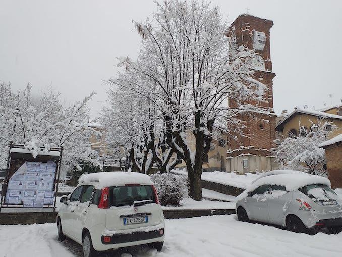 Le fotografie della prima neve del 2021 28