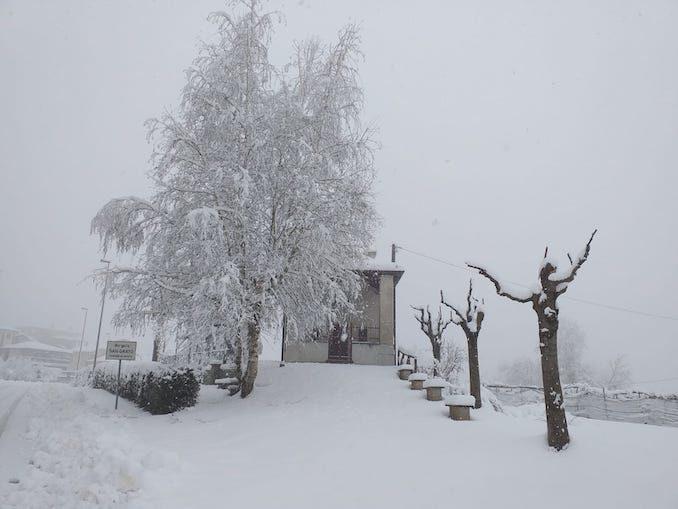 Le fotografie della prima neve del 2021 25