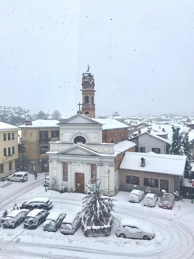 Le fotografie della prima nevicata del 2021 7