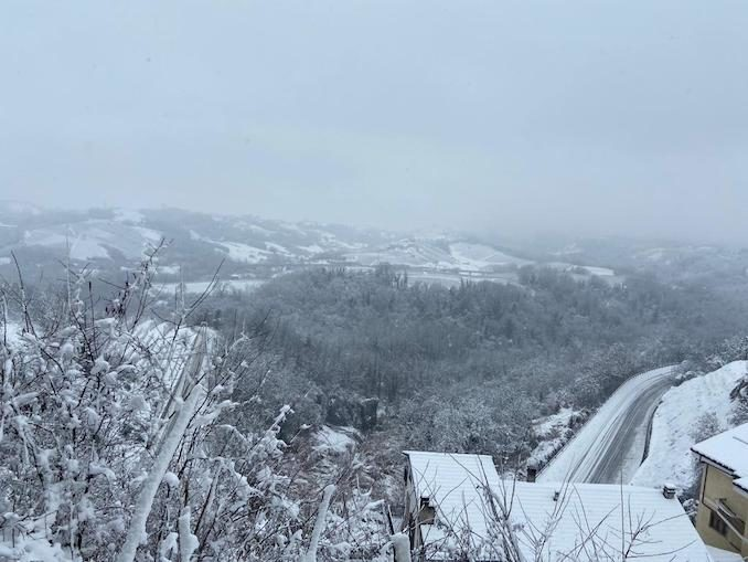 Le fotografie della prima neve del 2021 37