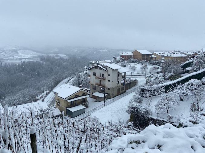 Le fotografie della prima neve del 2021 38