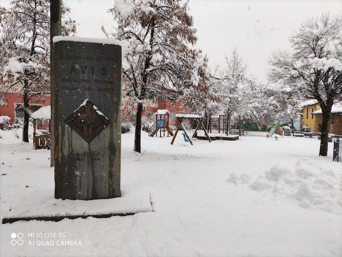 Le fotografie della prima neve del 2021 32