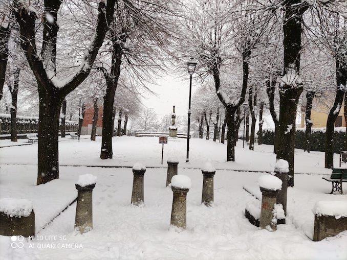 Le fotografie della prima neve del 2021 35