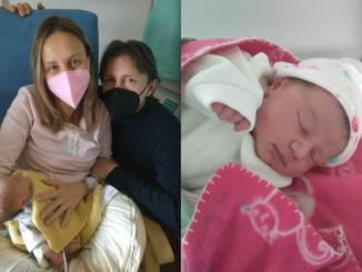 Anita, la prima nata del 2021 a