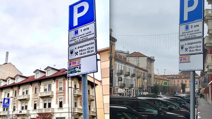 Alba: nuove modalità di sosta con disco orario in corso Italia e piazza San Paolo