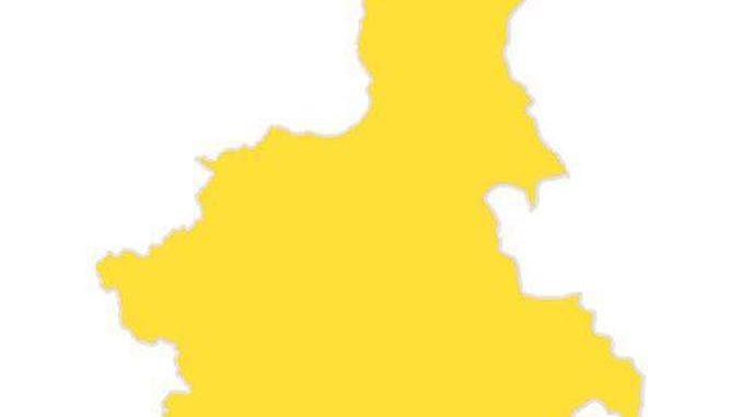 Covid: cala la pressione sugli ospedali, Piemonte giallo
