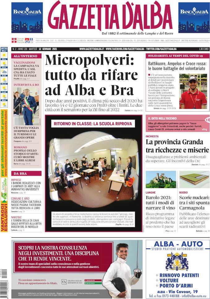 Prima_pagina_Gazzetta_Alba_02_21