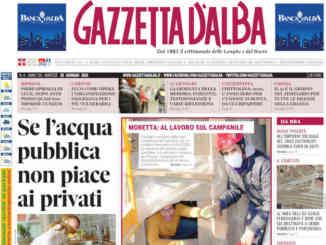 La copertina di Gazzetta d'Alba in edicola martedì 26 gennaio