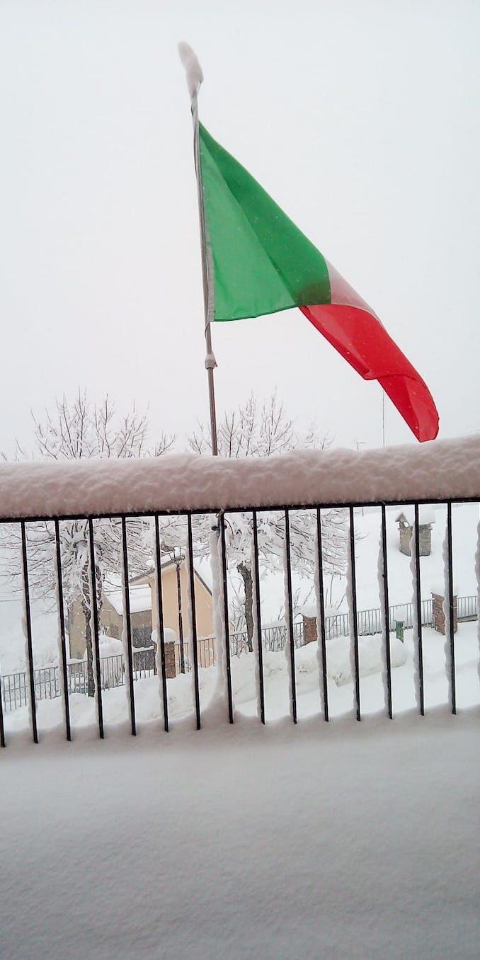 Le foto della prima nevicata del 2021 9