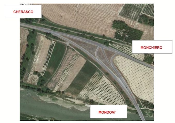 In fase di appalto la rotatoria tra le provinciali 12 e 661 a Novello in località Fornaci