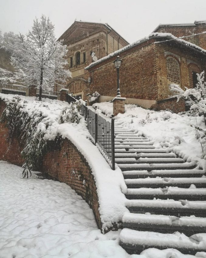 Le foto della prima nevicata del 2021 8