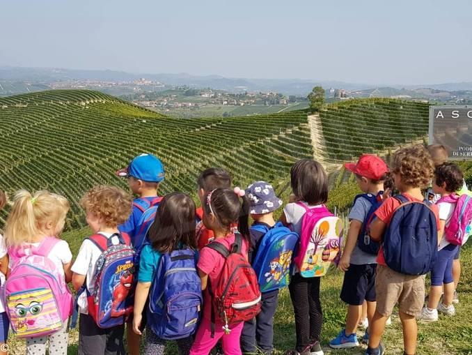 Scuola Diano bambini outdoor