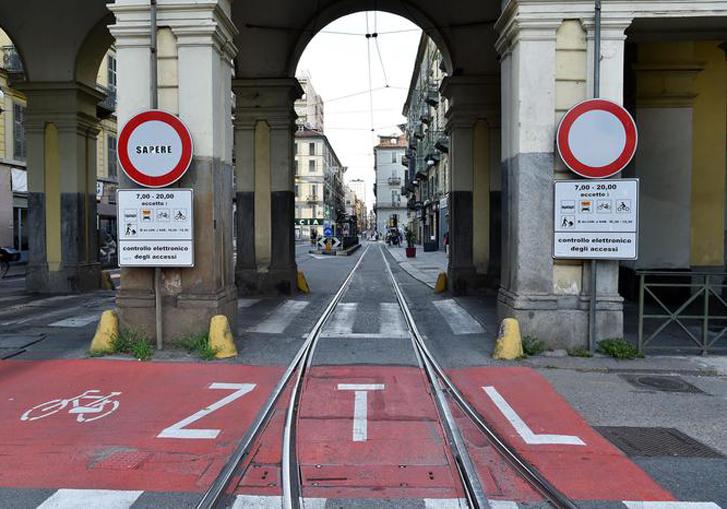 Varco ZTL Corso Vittorio angolo Via XX Settembre, Torino, 8