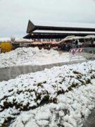 Cumuli di neve al posto dei banchi e gli ambulanti si lamentano 1