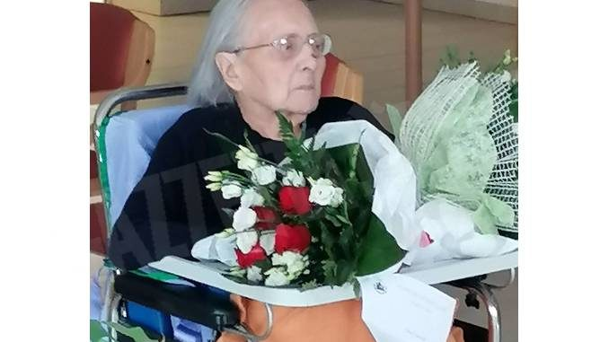 Dogliani: festa alla residenza Anni azzurri per i 100 anni di Anna Fia