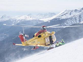 Valanga sul  Monte Bisalta, nel territorio di Peveragno, ferito uno scialpinista