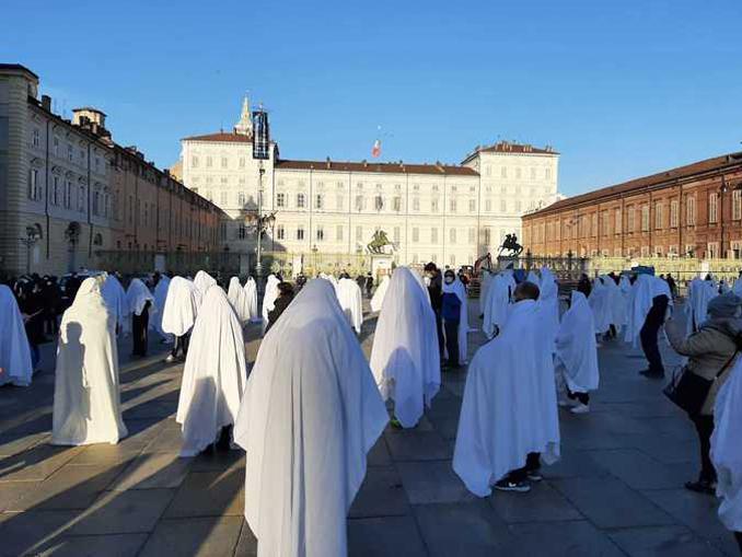manifestazione Torino operatori fitness fantasmi