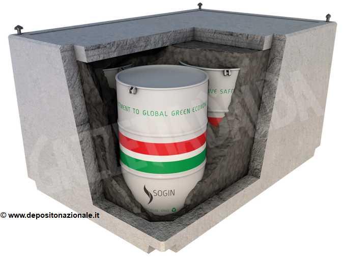 modulo deposito scorie nucleari