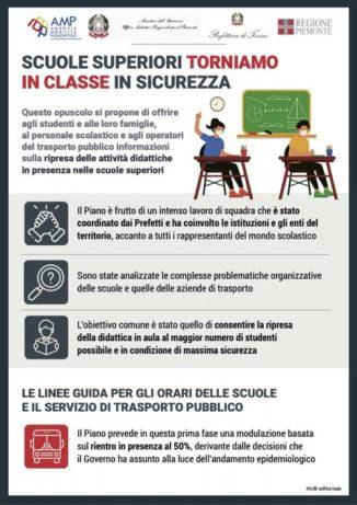 Scuole superiori: ritorno in classe in sicurezza