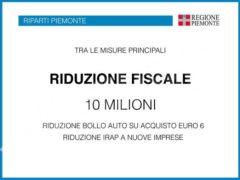 Cirio: «Abbiamo idee chiare per far ripartire il Piemonte» 17