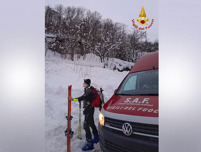 recupero di escursionista a Vinadio vallone di Neraissa