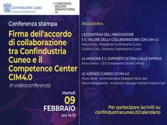 Accordo Confindustria Cuneo e CIM4.0: il cuore dell'innovazione arriva sul territorio