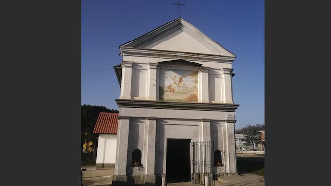 Bra: lavori in corso per la cappella dei santi Maurizio e Defendente a Bandito 1