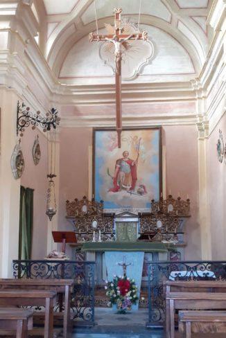 Bra: lavori in corso per la cappella dei santi Maurizio e Defendente a Bandito