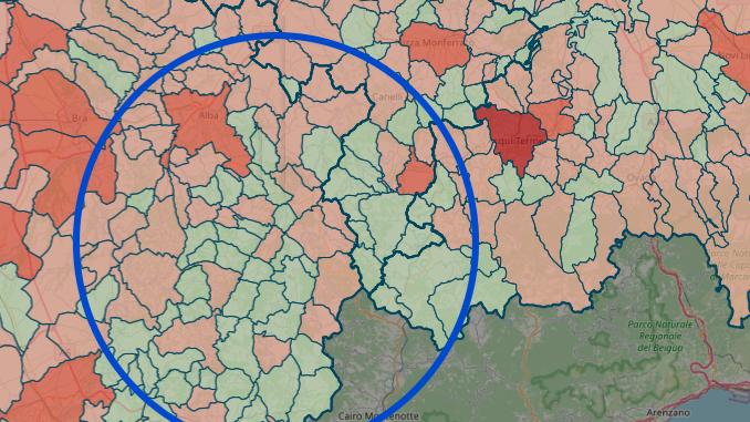 Coronavirus in Alta Langa: continuano a salire i positivi a Cortemilia