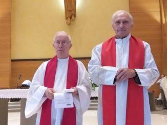 Don Piero Dalbesio, rettore della chiesa dei Salesiani