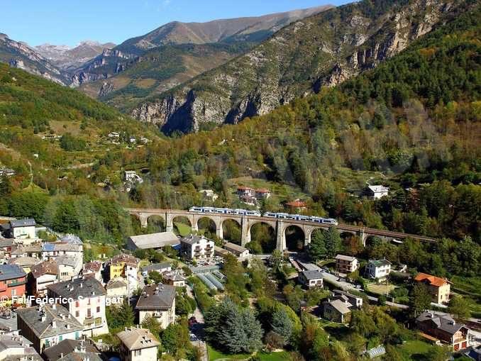 Luoghi del cuore Fai: vince la ferrovia Cuneo-Ventimiglia-Nizza 1