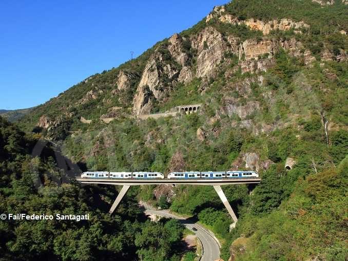 Luoghi del cuore Fai: vince la ferrovia Cuneo-Ventimiglia-Nizza 2