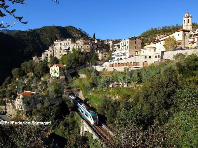 Luoghi del cuore Fai: vince la ferrovia Cuneo-Ventimiglia-Nizza 3