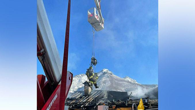 +++Aggiornamento+++Incendio ad un'abitazione nel comune di Valdieri: terminate le operazioni di spegnimento