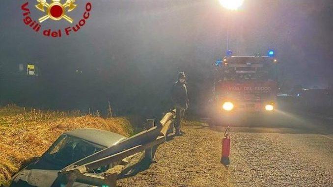 Ancora un incidente stradale nel Cuneese tra Envie e Barge
