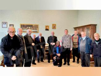 Visita del nuovo ispettore dei Salesiani alla Casa di Bra