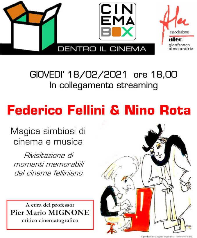 Alec fa da guida al mondo di Fellini e Chaplin