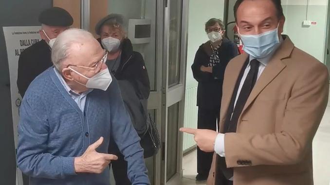 Covid-19: al via la vaccinazione per gli over 80 piemontesi +++VIDEO+++