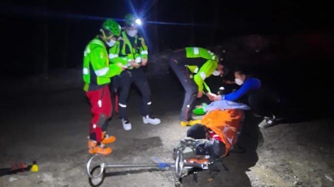 Il Soccorso alpino interviene sulla Bisalta per soccorrere un uomo