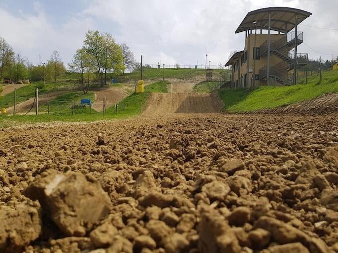 Paroldo riapre la pista di motocross alla Gamellona