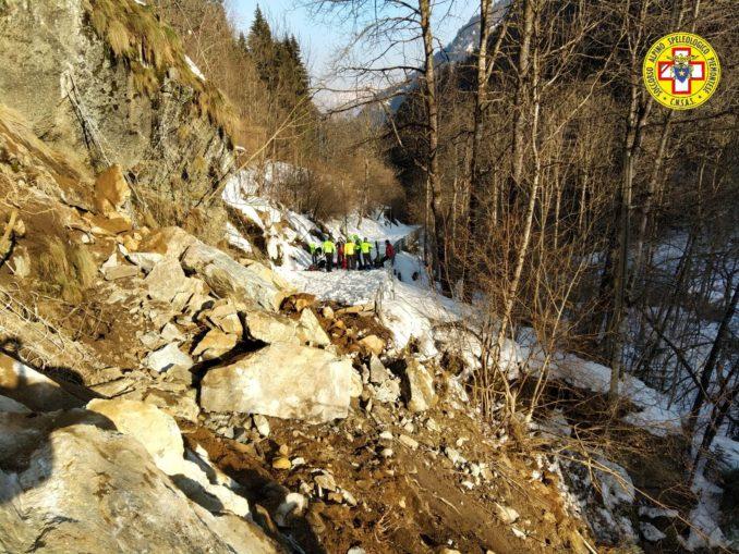 Due interventi del Soccorso alpino in Valsesia in provincia di Vercelli 2