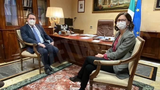 Il presidente nazionale dell'Uncem ha incontrato il ministro Gelmini